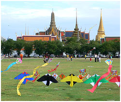Sanam Luang - Sanam Luang Park Bangkok, Phramen Ground Bangkok Thailand